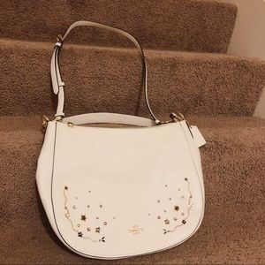 CoachELLE HOBO WITH STARDUST CRYSTAL RIVETS F49127